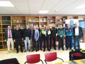 Politeia co patrocina la clausura de la liga interpolicial catalana de tiro   2019