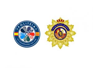 """Acuerdo de colaboración con la Asociación de Distinciones de Mérito """"Santos Ángeles Custodios"""" de España, amigos del Cuerpo Nacional de Policía."""