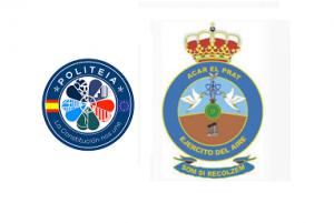 Reunión con los mandos del sector aéreo del ejército del aire en Barcelona