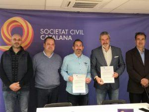 POLITEIA firma el Convenio con Societat Civil Catalana