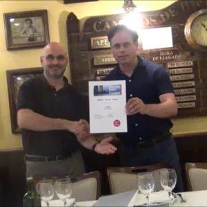 Politeia recibe un diploma honorífico