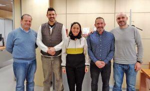 Politeia se presenta ante la Subdirectora General de Coordinación de la Policía de Cataluña