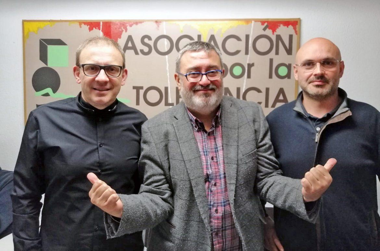 Sergio Fidalgo, Toni Sanz y José Antonio García