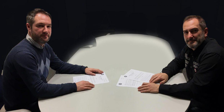 Firma del Convenio con la policía aduanera y fiscal