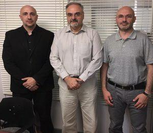 Reunión entre miembros de POLITEIA y AJSE-ISCA