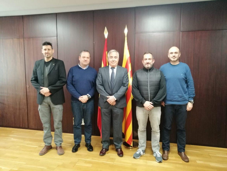 Reunion Politeia y Fiscalia Superior de Cataluña