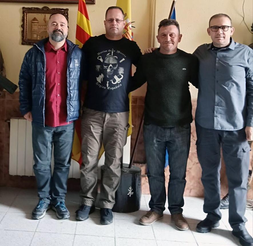 Reunión Politeia con Legionarios